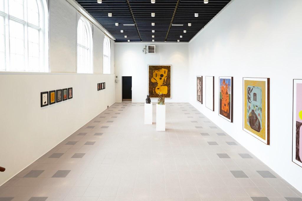Søren Sejr, Strokes, Installation View 1