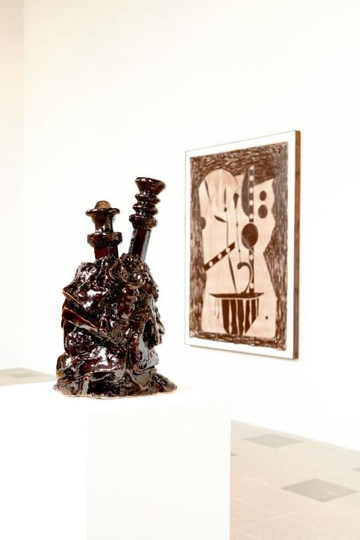 Søren Sejr, Strokes, Installation View 3