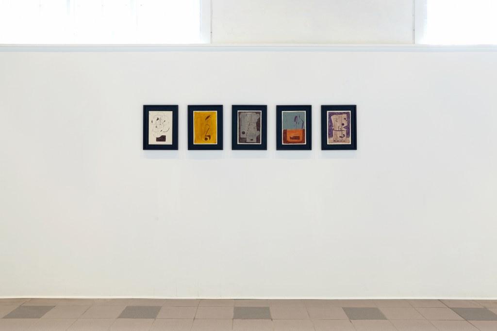 Søren Sejr, Strokes, Installation View 4