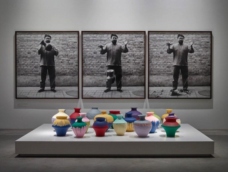 Installation view of exhibition 'Ai Weiwei: Ruptures', Faurschou Foundation, Copenhagen, 2015. Photo by Anders Sune Berg, © Faurschou Foundation
